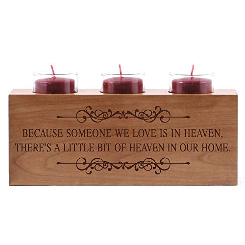 LifeSong Milestones Personalized Engraved Memorial Votive Candle...