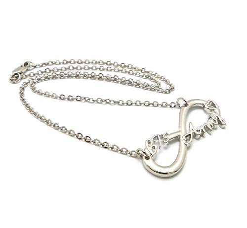 """New BTS Army Fan Infinity Pendant & 18"""" Link Chain Fashion Necklace - XC532R"""