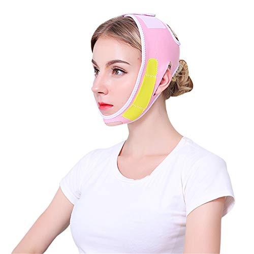 PXD913 Bandages de Masque Facial Amincissants, Masque Lift Up Cheek Face, Ceinture Ultra Mince V Face Line Slim Up, Bandage Mince de Levage de Visage