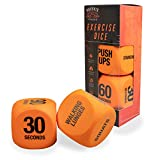 Phoenix Fitness Exercise Dice - Vinyl Fitness Routine Dice - Workout Fun with the Exercise Dice to Switch Up Your Training