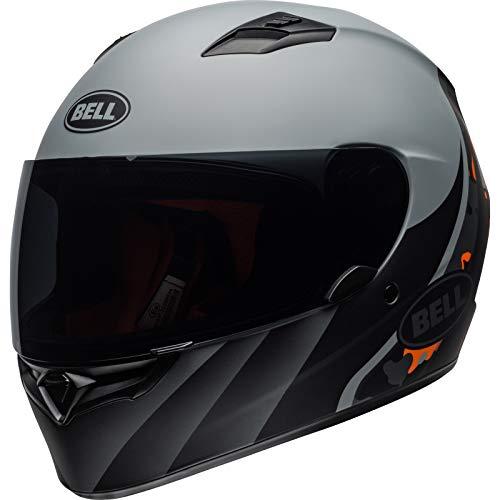 Bell Helmets Qualifier, Casco da Motociclismo Uomo, Arancione, XL