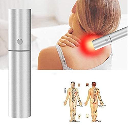 DHFD Handheld Infrared Light, Therapy Torch Therapy Lamp, Handheld Infrared Light Therapy Device Torch, 630nm/660nm/850nm LED Red Light Device USB Charging A++