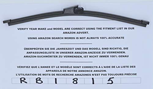 Limpiaparabrisas trasero de ajuste perfecto RB1815, 28 cm: Amazon ...
