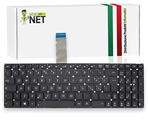 New Net – Teclado italiano compatible para Notebook Asus F550C F550L F550W F550LD F550LN F552W F552 x552c X552L K550J K550JF K550VX P550C X501 F550c X501U X501U 01XE KKing. 550CA K550JD