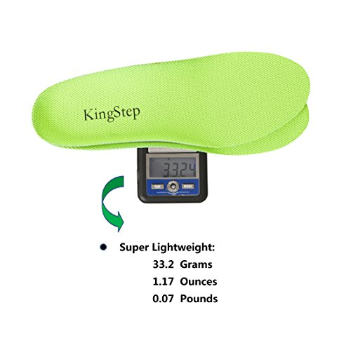 KingStep Athletic Replacement Soft Insoles