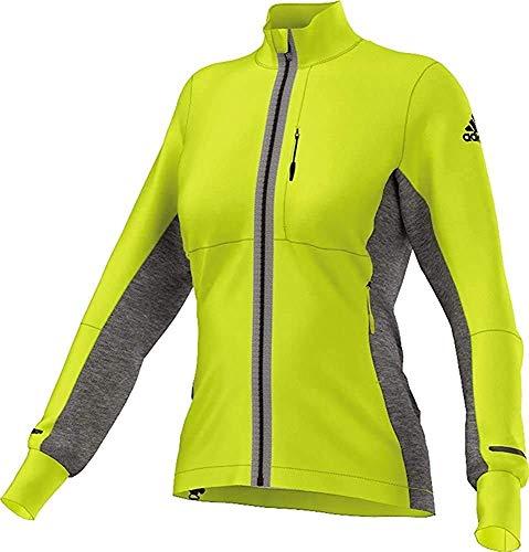 adidas Damen Xperior Softshell Jacke, Shock Slime, 44