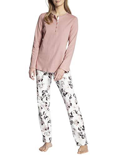 CALIDA Damen Midnight Dreams Pyjamaset, Rose Bud, M