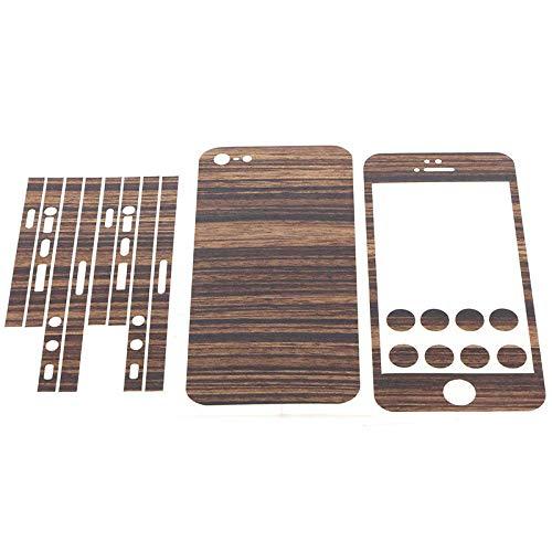 MTP Products Q-Skins Zebrano Skin Hülle, Skin zum Aufkleben, Folie, 05024, Klebefolie, Schutzfolie kompatibel für iPhone 5