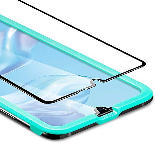 ESR Pellicola Protettiva per Huawei P30, Proteggischermo in Vetro Temperato [Protezione 3D + Massima Protezione] [Copertura Schermo Intero], per Huawei P30