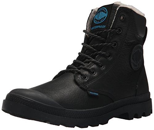 Palladium Pampa Sport Cuff WPS, Unisex-Erwachsene Stiefel & Stiefeletten, Schwarz (Black 001), 37 EU (4 Erwachsene UK)