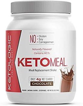 KetoLogic Keto Meal Replacement Chocolate Shake Powder