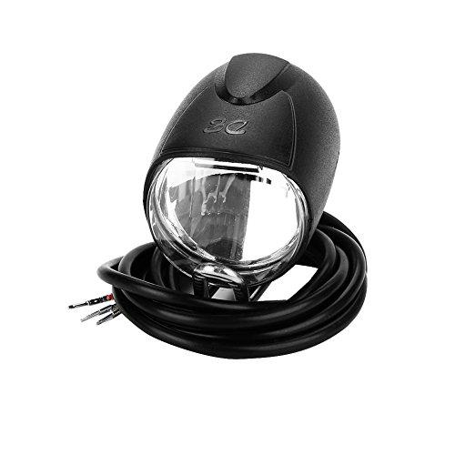 SANON Universele Spanning 2 in 1 Koplamp Voorlicht LED Lamp Hoorn voor Elektrische Fiets E-Bike