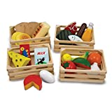 Melissa & Doug 271 Food Groups | Pretend Play | Play Food | 3+ | Gift for Boy or Girl