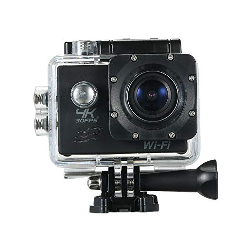 Andoer Action Camera 4K 16M WiFi Sports Camera 170° Wide Angle Underwater 30M Waterproof Sports Camcorder with 2