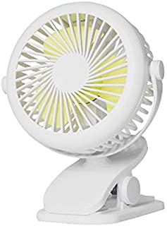 Ventilador Usb,Mini Ventilador De Sobremesa Blanco Portátil De Bajo Consumo Eléctrico Multifuncional, Ventilador Eléctrico Creativo Adecuado Para La Oficina Al Aire Libre, Dormitorio Para Estud