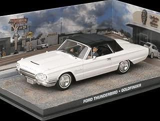 Ex Mag Ford Thunderbird Convertible Diecast Model Car from James Bond Goldfinger