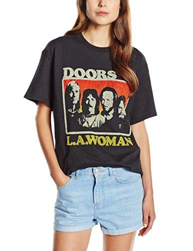 The Doors Herren, T-Shirt, LA Woman, Schwarz (Black), L