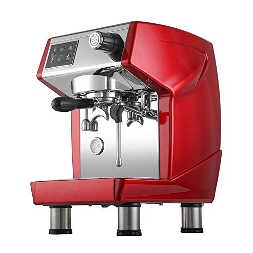 Best Bargain Coffee Makers Italian Commercial Coffee Machine Fresh Grinding Semi-automatic Pumping M...