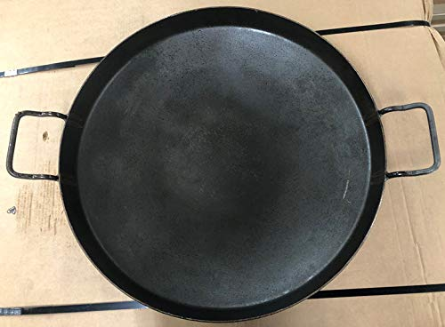 Brooks AG Parts 22' Cooking Disc Blade Discada with 1-1/2' Sides, Discada/Paella Pan, Made in Brazil