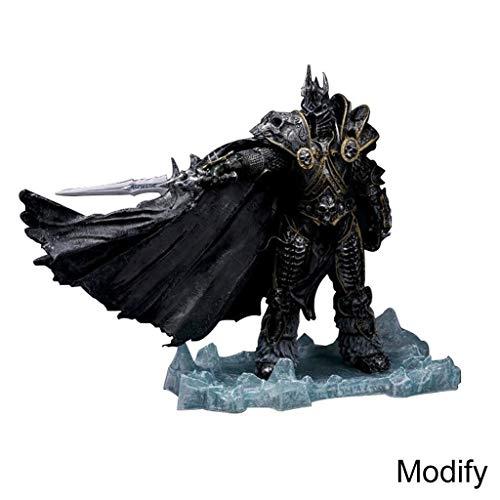 Unbegrenzt World Of Warcraft Deluxe-Sammlerfigur: Der Lichkönig: Arthas Menethil-8.66in