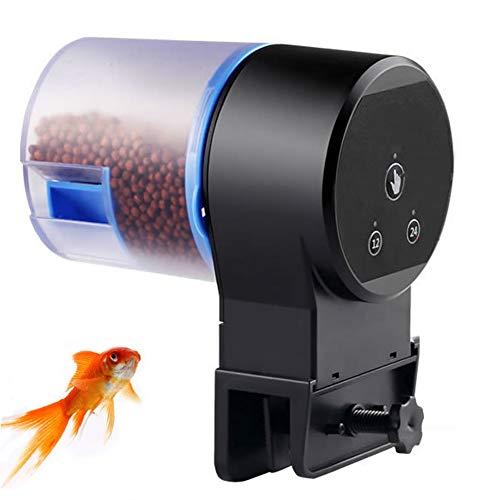XYWBTCXK Futterautomat Aquarium Goldfish Smart-Timing-Auto-Fisch-Zufuhr Timer Lebensmittel Feeding12 / 24 h Timer Feeding