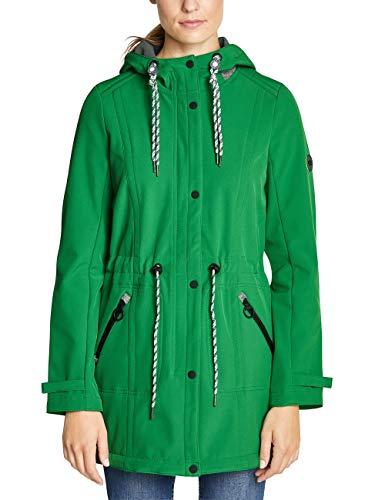 Cecil Damen 100500 Mantel, Juicy Green, X-Small (Herstellergröße:XS)