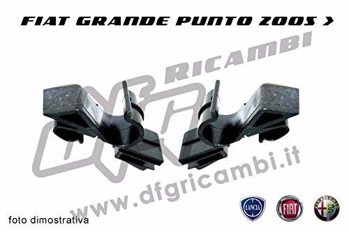 Stopper für Hutablage, für Fiat Grande Punto, ab 2005, 2 Stück, Art.-Nr.: 71719953,71719952
