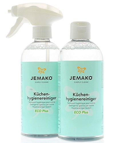 Jemako Küchenhygienereiniger 1 Liter - 2 x 500ml Flasche