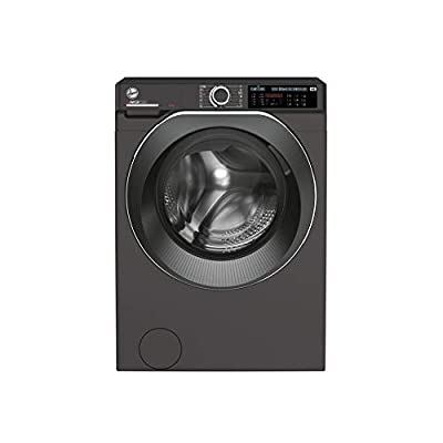 Hoover H-Wash 500 HWD69AMBCR Free Standing Washing Machine, Care Dose, A+++, 9 kg, 1600 rpm, Graphite