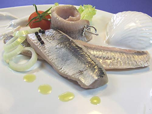 Klaassen Matjesfilets, Matjes Filets mild gesalzen, in reinem Rapsöl, 2250g