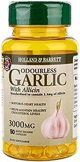 Holland & Barrett Odourless Garlic Capsules 50's