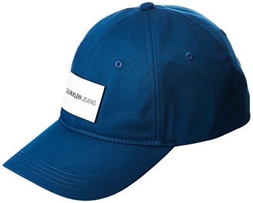 CALVIN KLEIN JEANS - Men's cerulean blue baseball cap