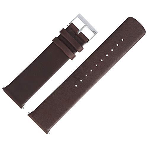 Skagen SKW6237 - Correa para Reloj (22 mm, Piel), Color marrón