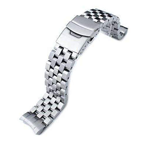 Strapcode Uhrenarmband 20mm Super Engineer II für Seiko Sumo SBDC001, SBDC003, SBDC005, SBDC031, SBDC033