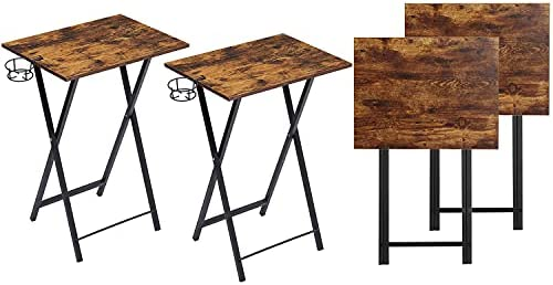 Top 10 Best tv tray tables set of 4 Reviews