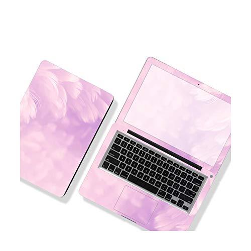 Funda de plumas de color para ordenador portátil, pegatina de bricolaje, funda de estilo de película impermeable para Lenovo/Dell/ASUS/HP/Apple Etc.-LY-180-14 pulgadas