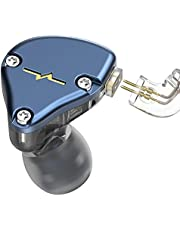 NICEHCK NX7 カナル型イヤホン バランスドアーマチュア型ドライバー4基+2DD(複合カーボンナノチューブダイナミック) + 1セラミック振動板ドライバー 片側に7基のドライバーユニット 2pinリケーブル着脱式 ハイブリット 耳掛け式 高純度銅ケーブル3.5mm L型プラグ HIFI ハイファイ 高純度銅ケーブル付属 IEM