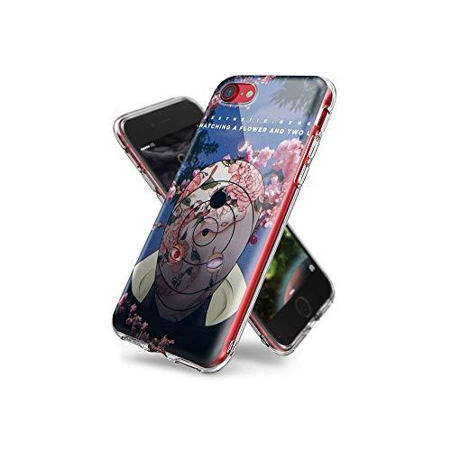 YilNGUN CC iPhone 7 Covers, iPhone 8 Covers, Gel Trasparente Cristallino (Custodia) [Slim-Fit] [Anti-graffio] [Design Pattern] per iPhone 7 / iPhone 8 CYlG#009
