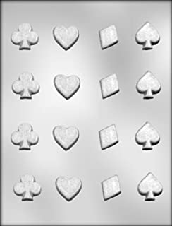 CK Products Spades, Clubs, Diamonds, and Hearts Chocolate Mold