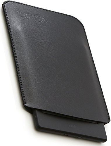 V.M Kindle Unmarked Sleeve Case Leather Kindle Paperwhite Oasis Light Thin Leather Kindle Slip In Cover 10th Generation 9th Gen 8th Gen 2020 2019 2018 2017 Genuine 10th Gen 9th Gen 8th Gen 9th Gen 10 Black Kindle Normal Black