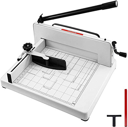 Mophorn Paper Cutter A3 Industrial Heavy Duty Guillotine Trimmer 17Inch 400 Sheets Heavy Duty Paper Cutter Trimmer Machine (A3-17Inch)