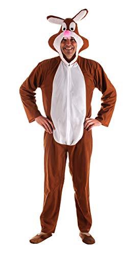 Disfraz de Conejo Marrón para Adultos
