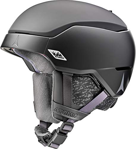 ATOMIC Unisex Count All Mountain-Skihelm, AMID, S (51-55 cm), Schwarz, AN5005742S