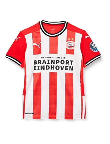 Puma Kinder PSV Home Shirt Replica Jr with Sponsor Trikot, High Risk Red White, 176