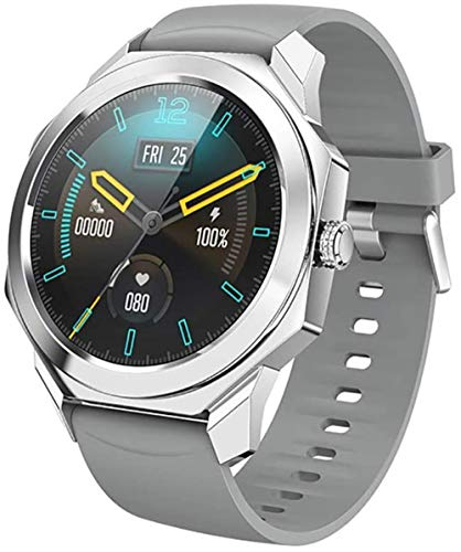 Reloj deportivo inteligente al aire libre, con diseño de esfera octogonal, pulsera deportiva inteligente impermeable IP68 todo el día
