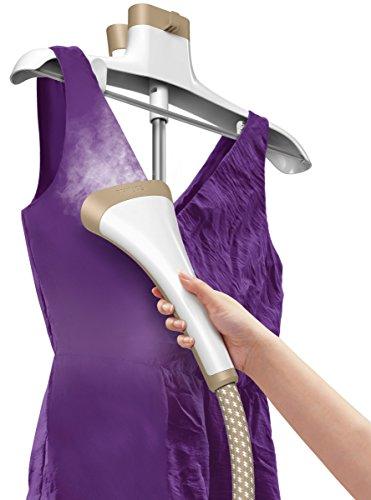 Philips GC535/35 Défroisseur vapeur vertical 200 W Couvercle pour parfums Gant protecteur Réserve de 1,2 l Violet