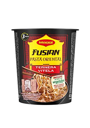 Maggi - Oriental Express Pasta Ternera - 62 g - [Pack de 8]