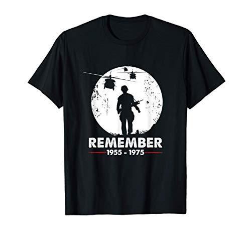 Recuerde la guerra de Vietnam - Veterano militar Camiseta