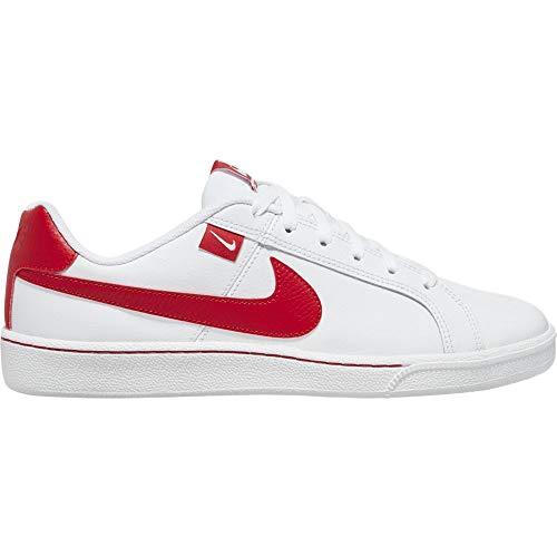 Nike Court Royale Tab, Zapatos de Tenis Hombre, White/University Red, 44.5 EU