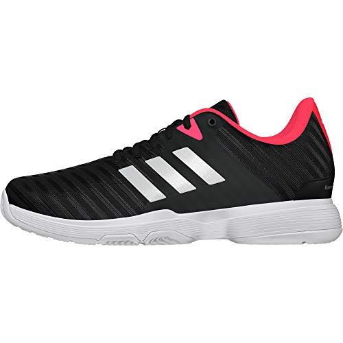 Adidas Barricade Court W, Zapatillas de Tenis para Mujer, Negro (Negro 000), 36 EU